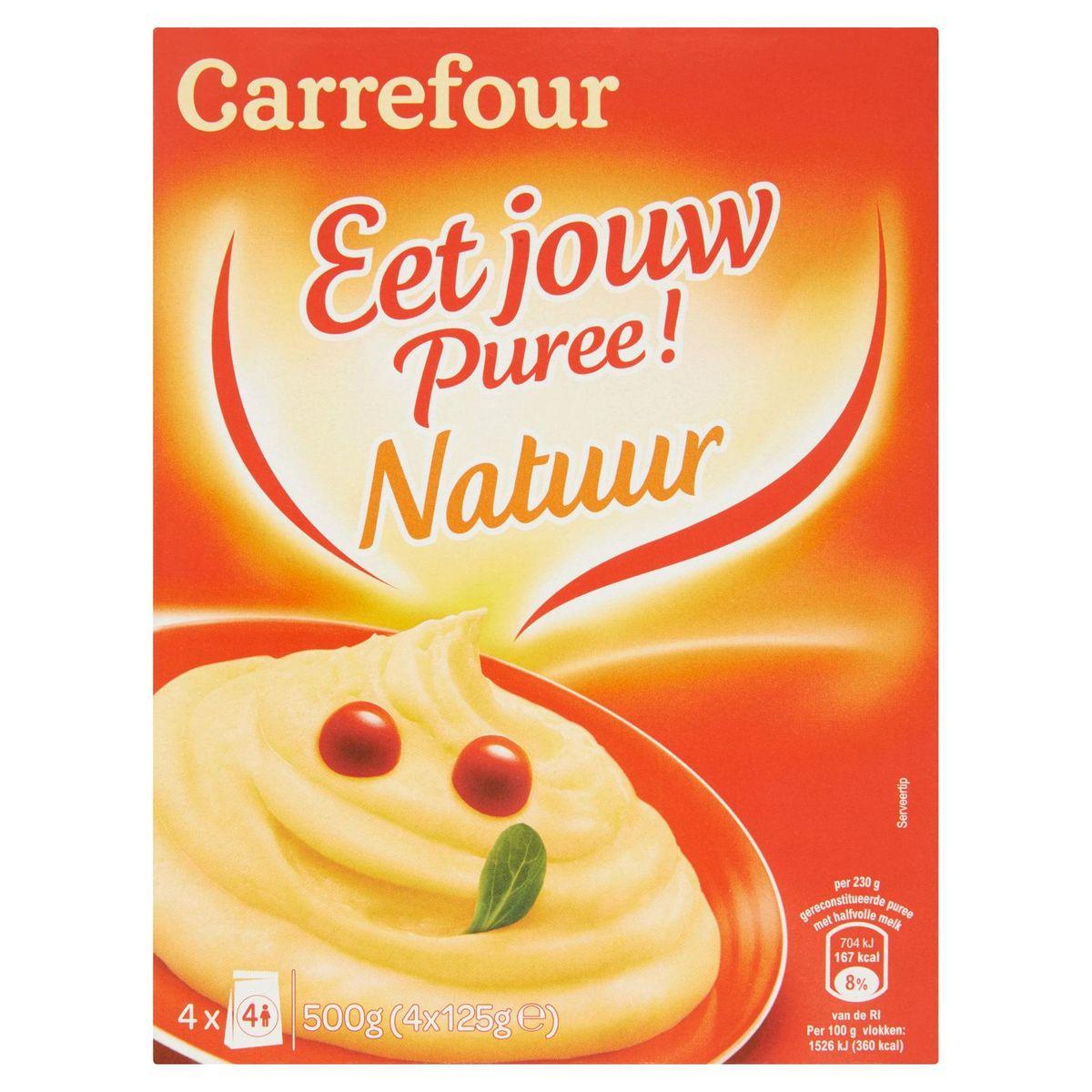 Carrefour Mange Ta Purée ! Nature 4 x 125 g