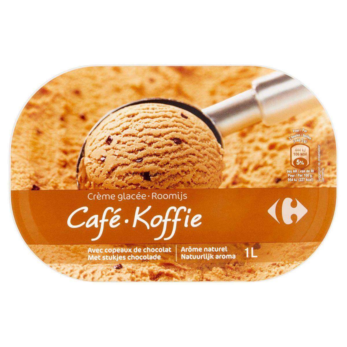 Carrefour Crème Glacée Café 465 g