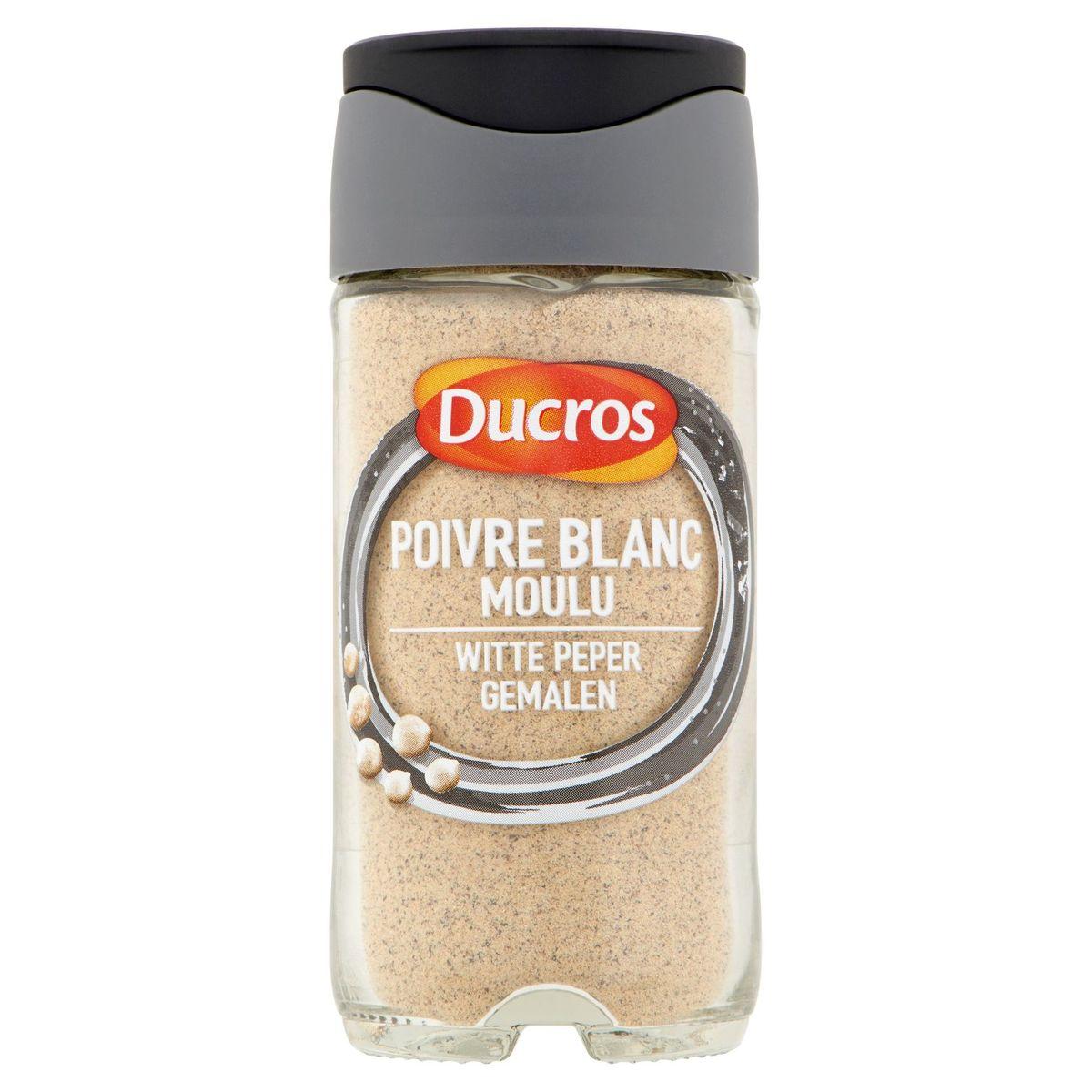 Ducros Witte Peper Gemalen 40 g