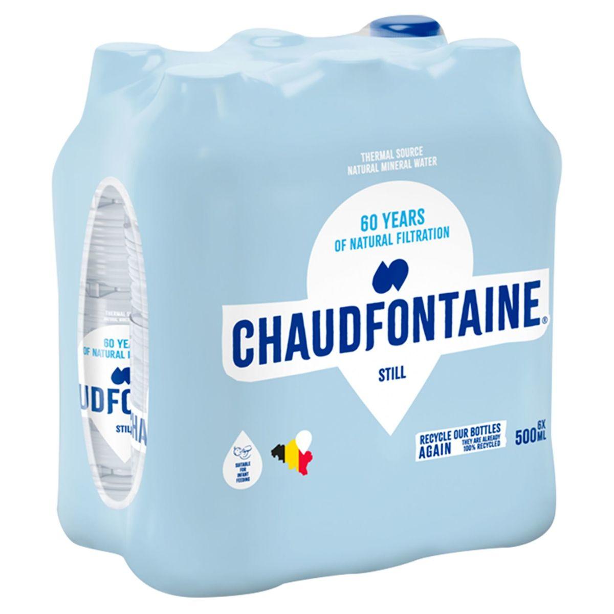 Chaudfontaine Still Pet 500ml X 6