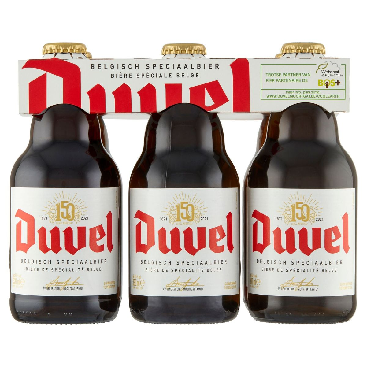 Duvel Cluster Clip 6 x 33 cl