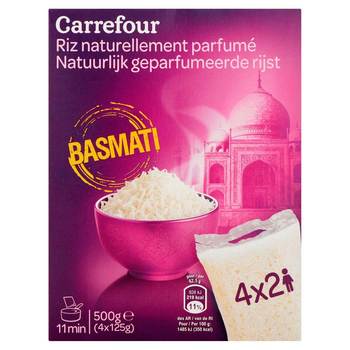 Carrefour Basmati Riz Naturellement Parfumé 4 x 125 g
