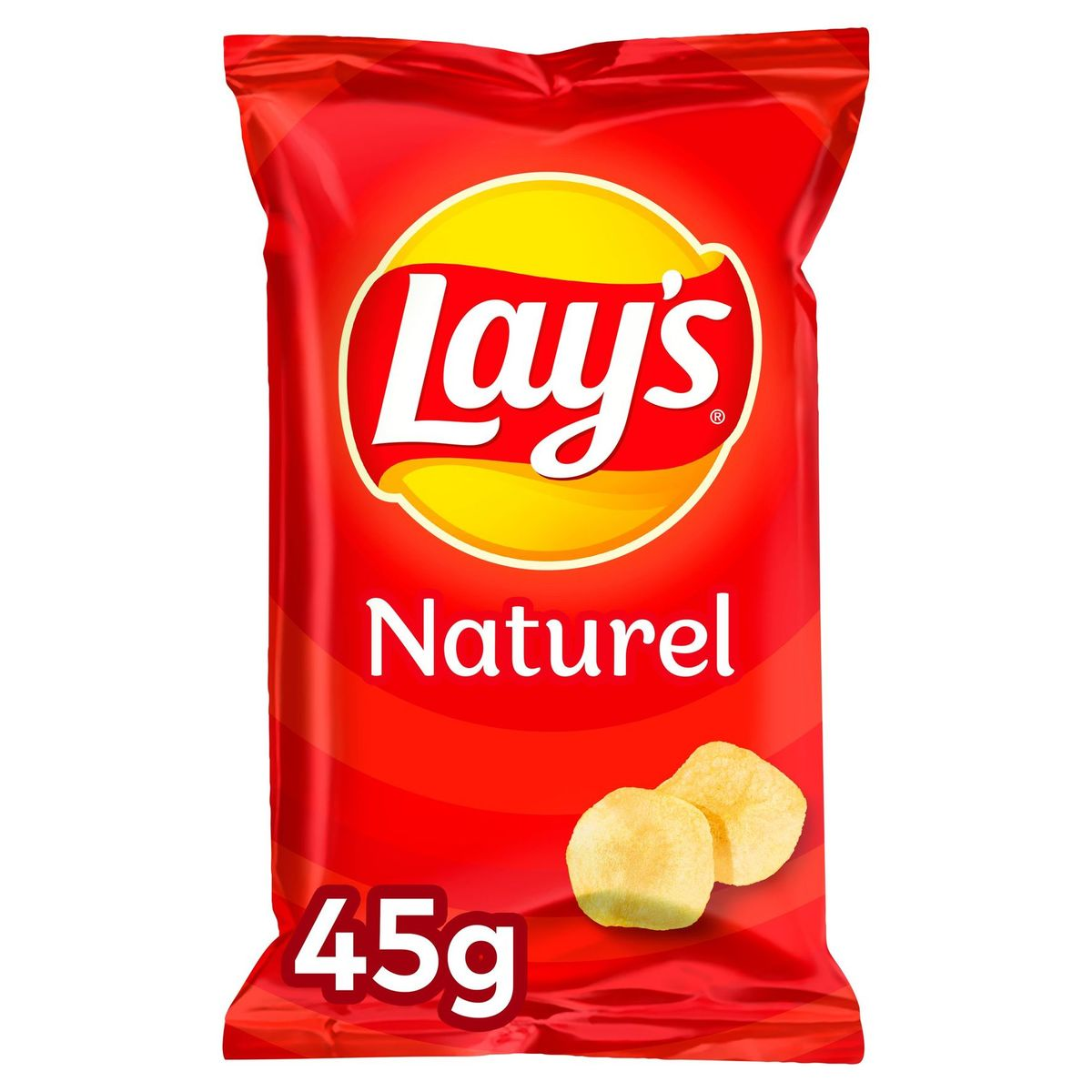 Lay's Naturel Chips Salé 45 gr