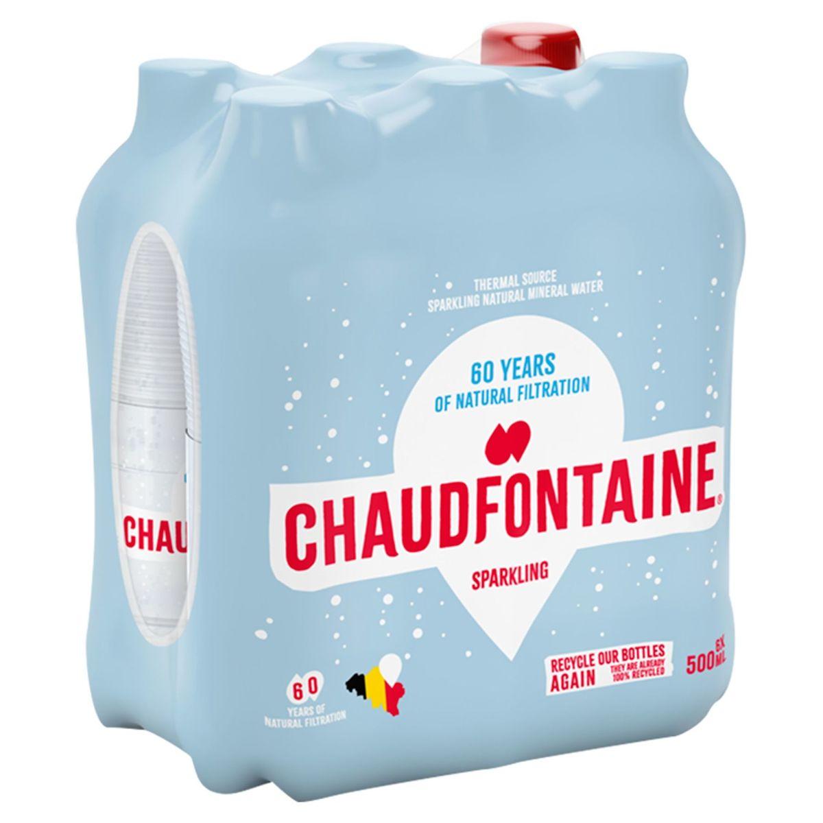 Chaudfontaine Sparkling Pet 500ml X 6