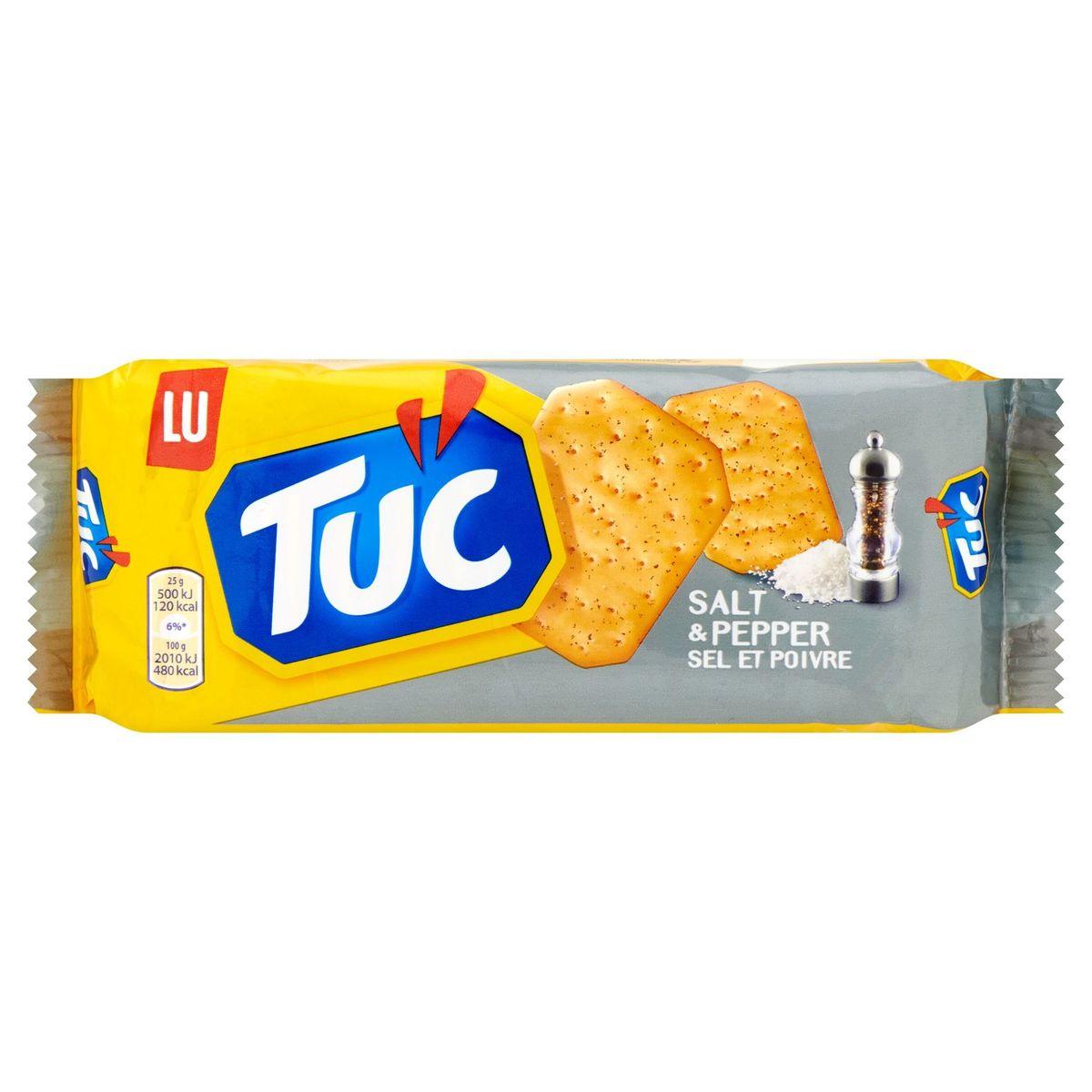 LU Tuc Crackers Sel et Poivre 100 g
