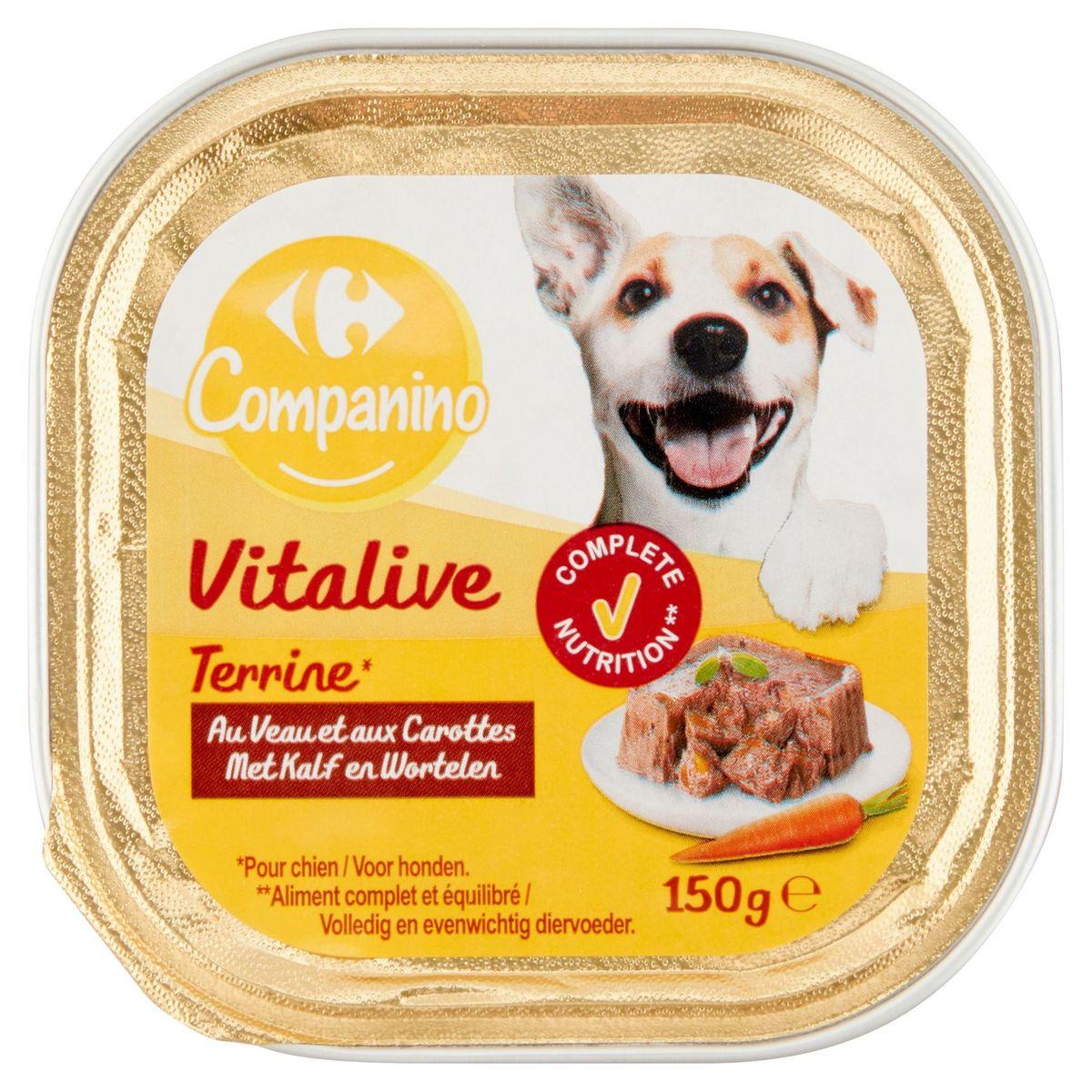 Carrefour Terrine Rijk aan Kalfsvlees en met Wortelen 150 g