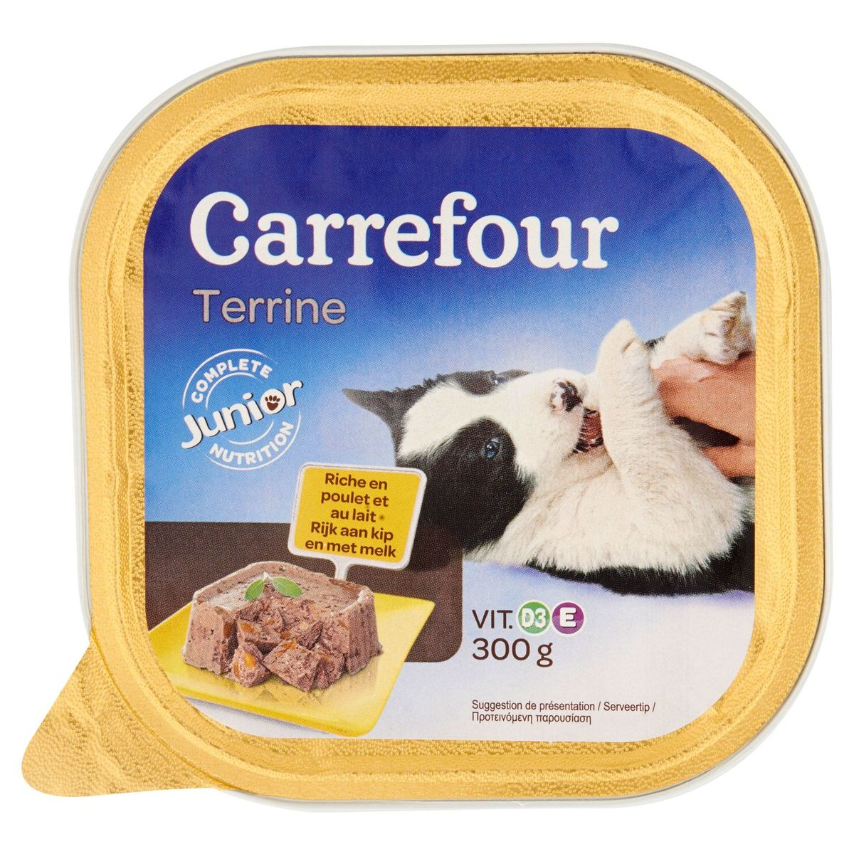 Carrefour Terrine Rijk aan Kip en met Melk 300 g