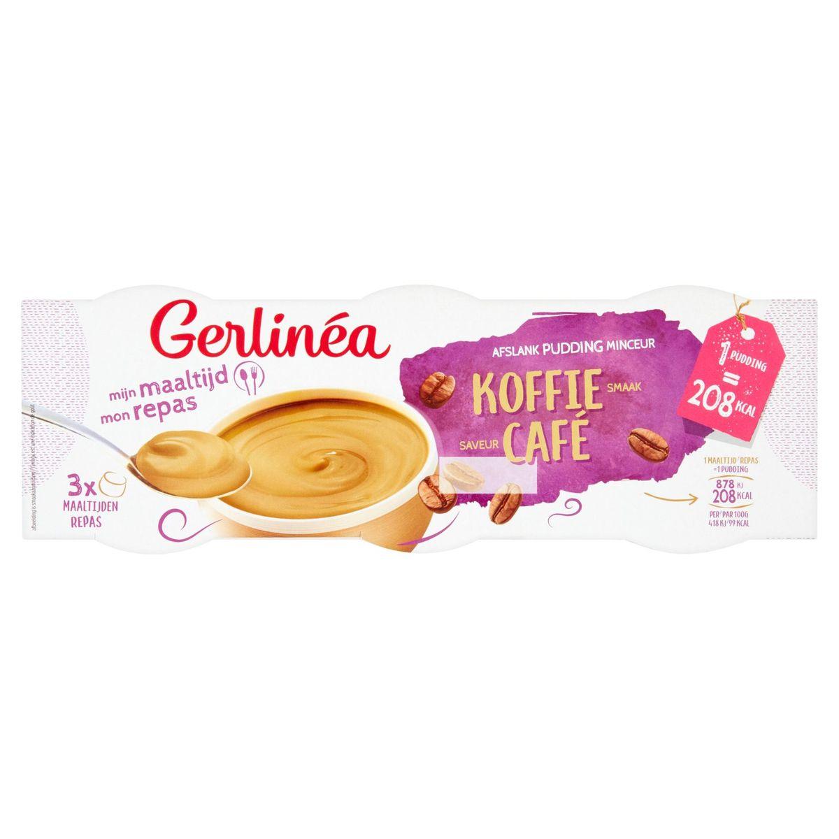 Gerlinéa Mon Repas Pudding Minceur Saveur Café 3 x 210 g