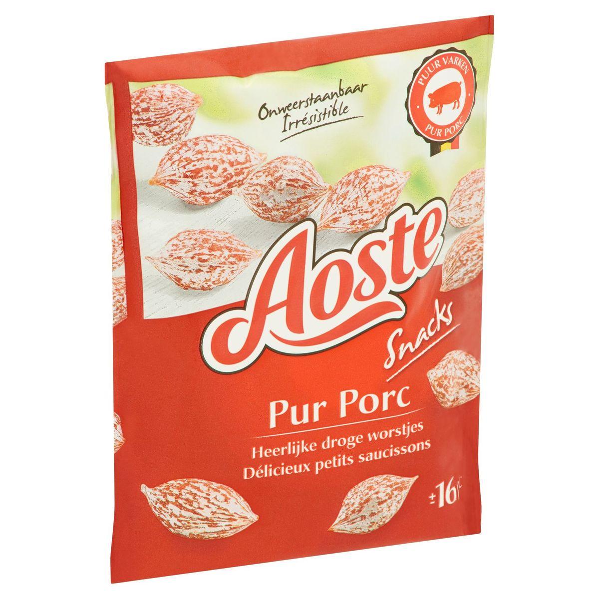 Aoste Snacks Pur Porc 80 g
