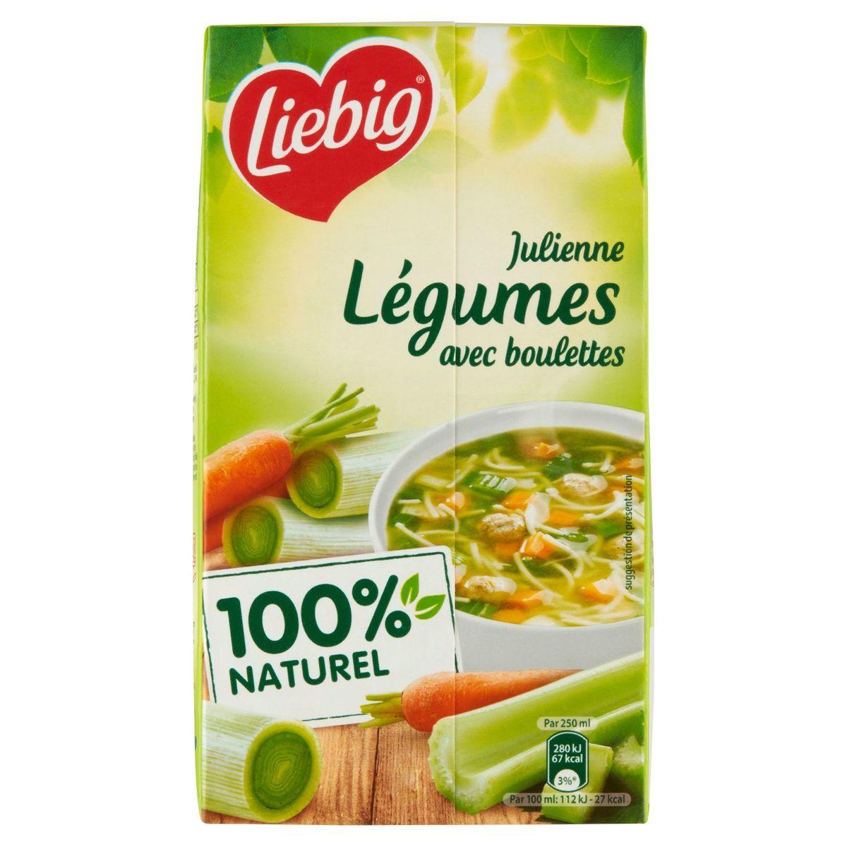 Liebig DéliSoup' Julienne Légumes avec Boulettes 1 L