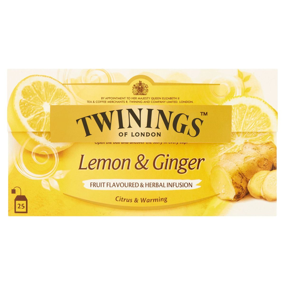 Twinings of London Lemon & Ginger 25 x 1.5 g