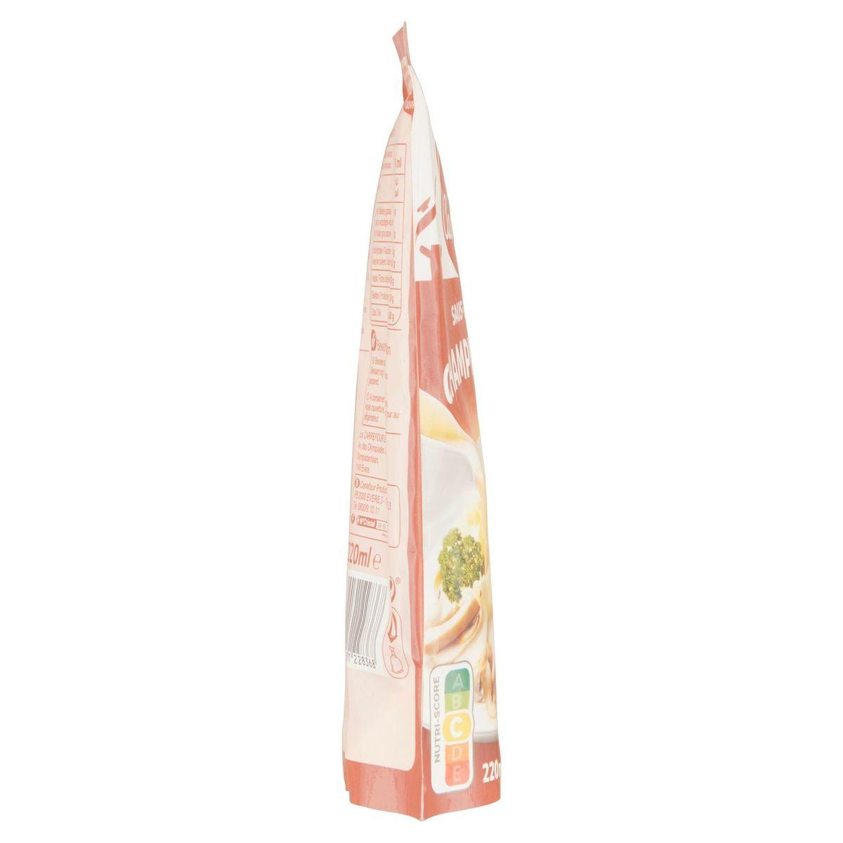Carrefour Classic' Saus Champignon 220 ml