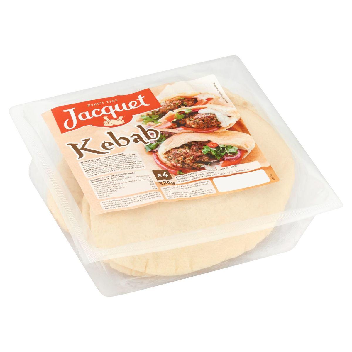 Jacquet Kebab 4 Stuks 320 g
