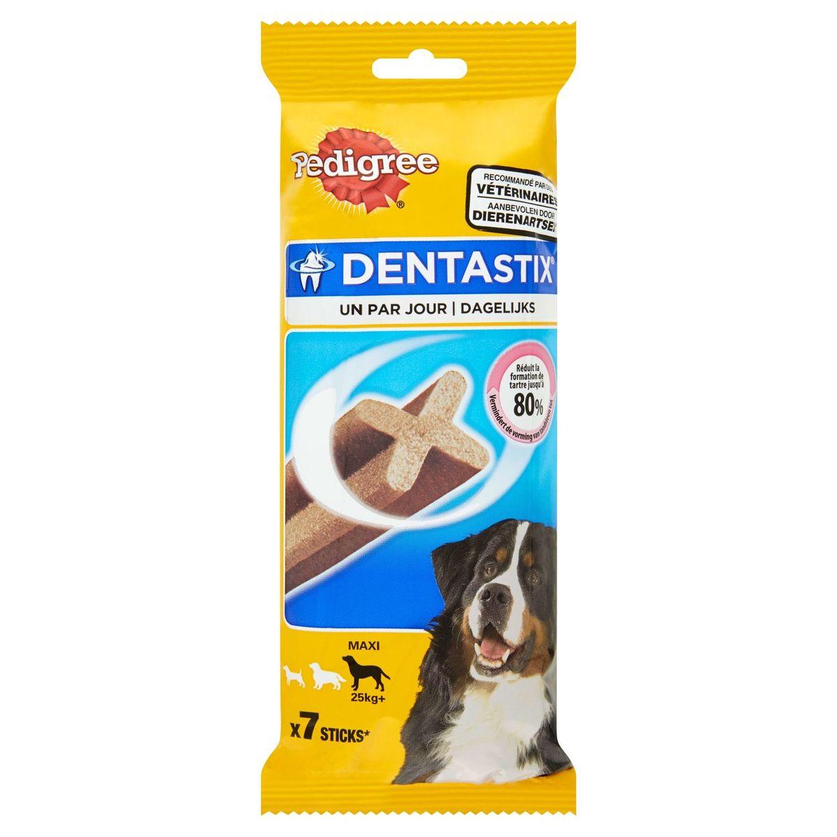 Pedigree DentaStix Snack Chien Un par Jour Maxi 7 Pièces 270 g