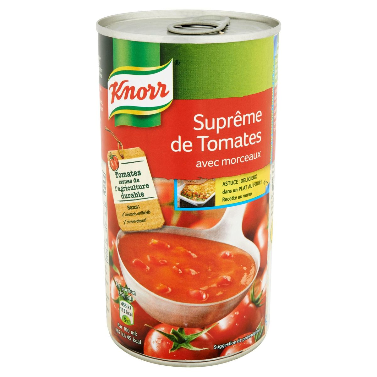 Knorr Blik Soep Tomaten Suprème 515 ml