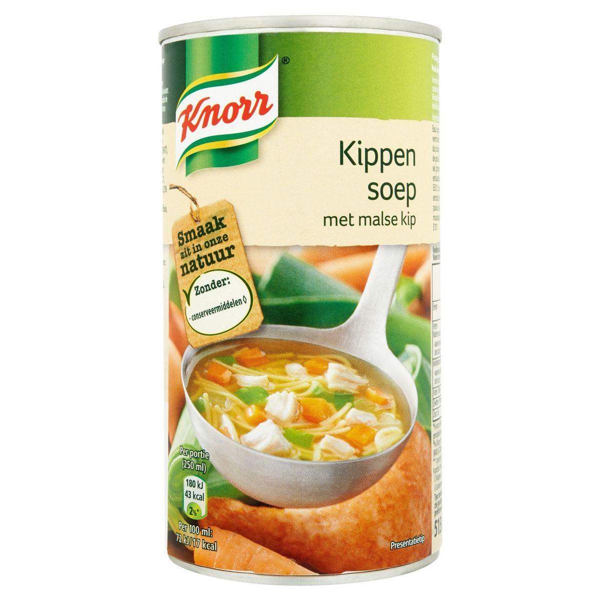 Knorr Blik Soep Kip 515 ml
