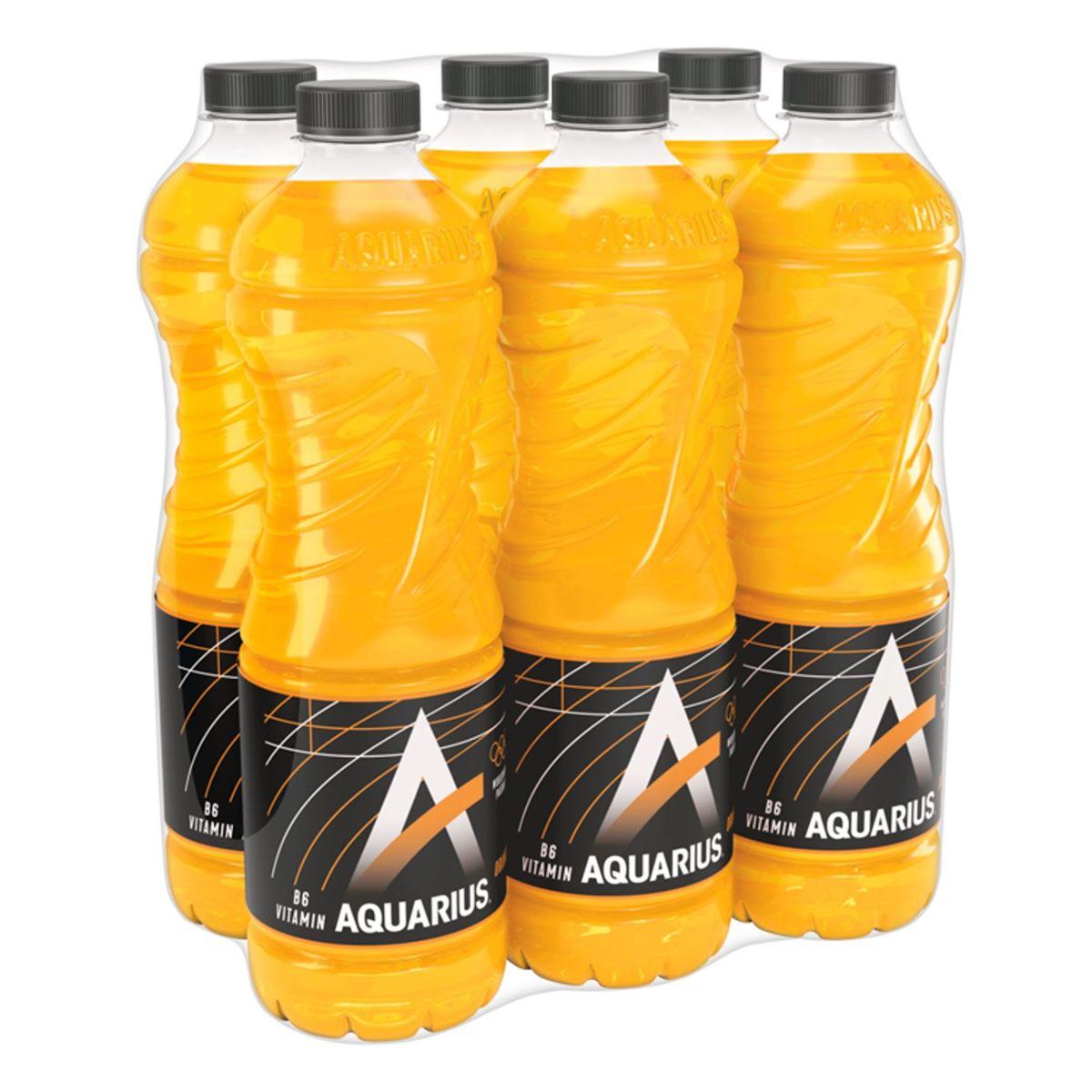 Aquarius Orange Economy Pack 6 x 1.5 L