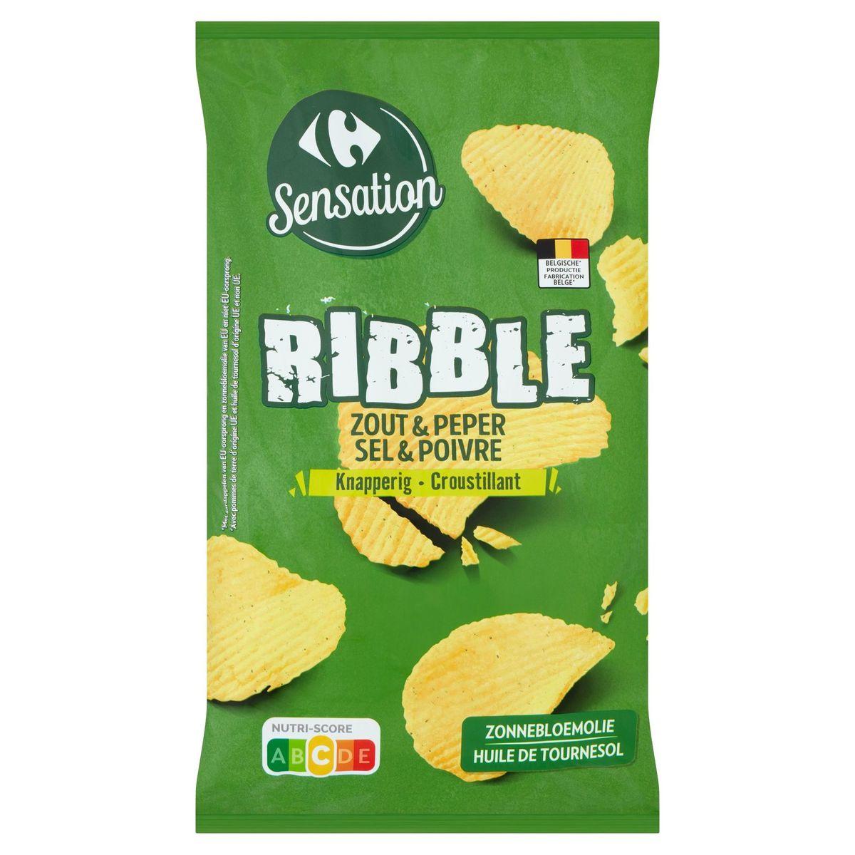 Carrefour Sensation Ribble Sel & Poivre 200 g