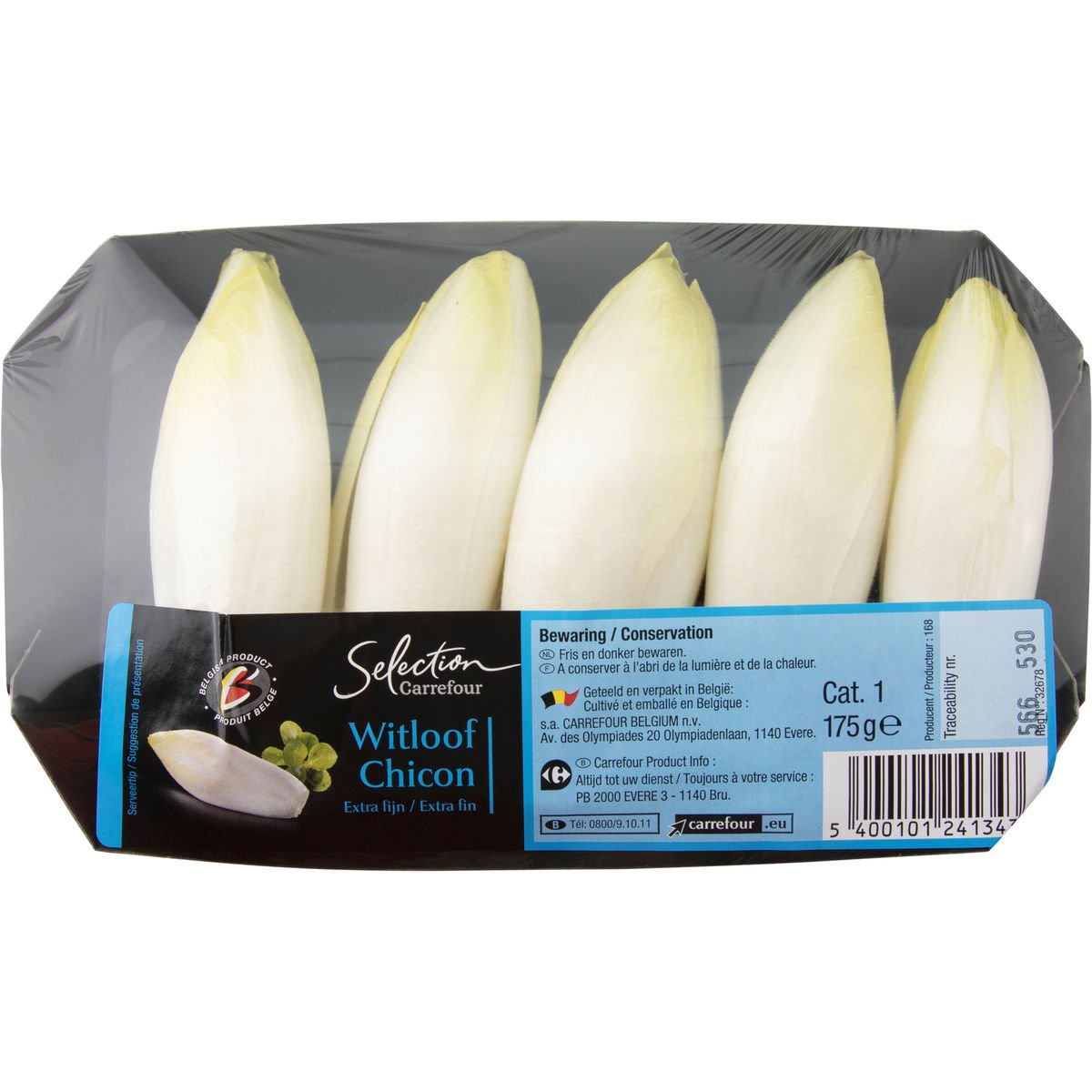 Carrefour Witloof Extra Fijn 175 g
