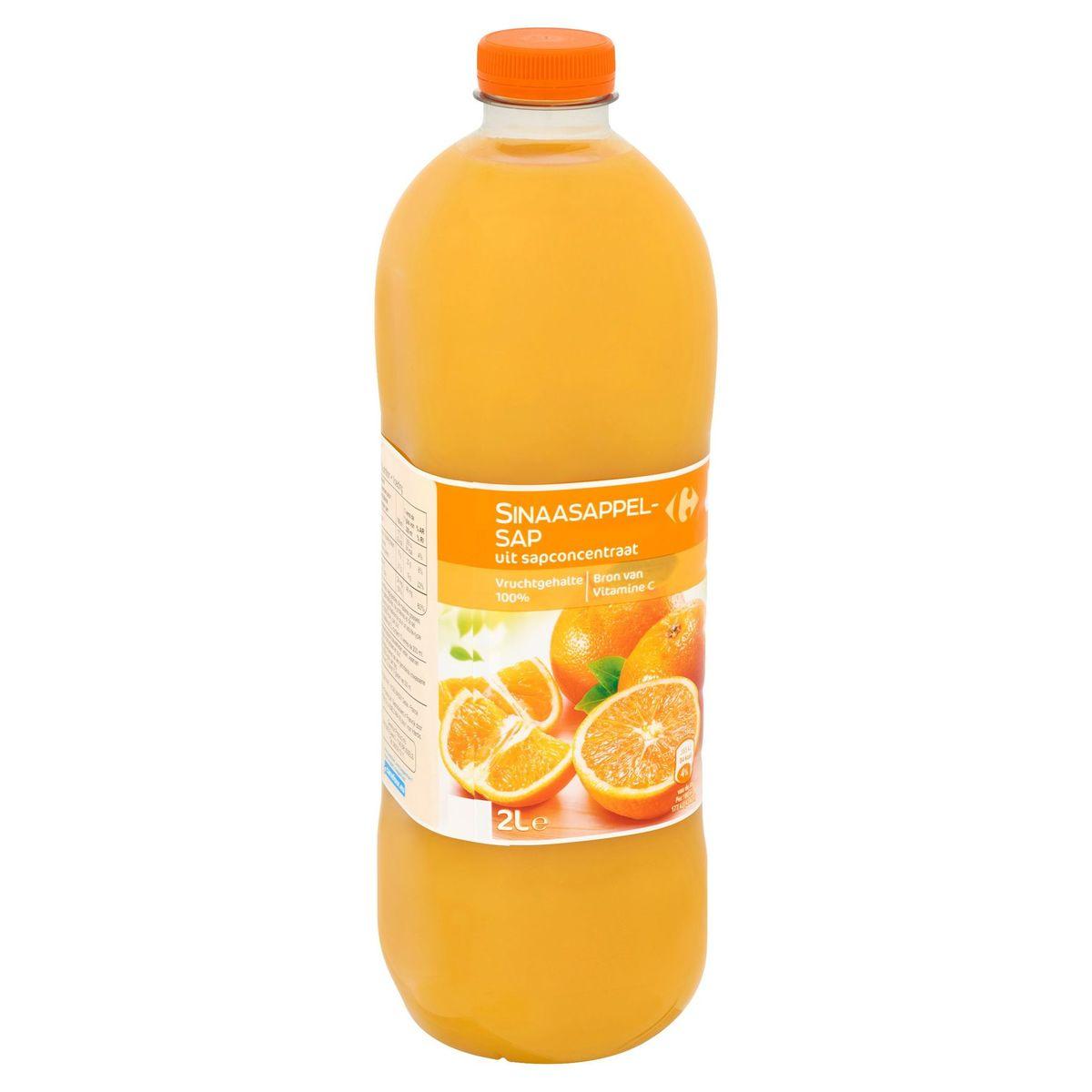 Carrefour Jus d'Orange à Base de Concentré 2 L