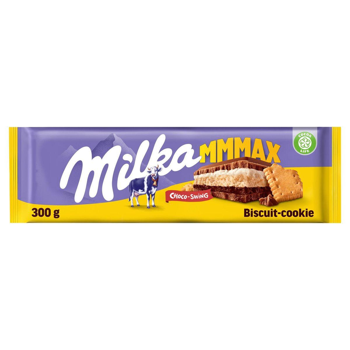 Milka Mmmax Choco-Swing Biscuit-Galleta 300 g
