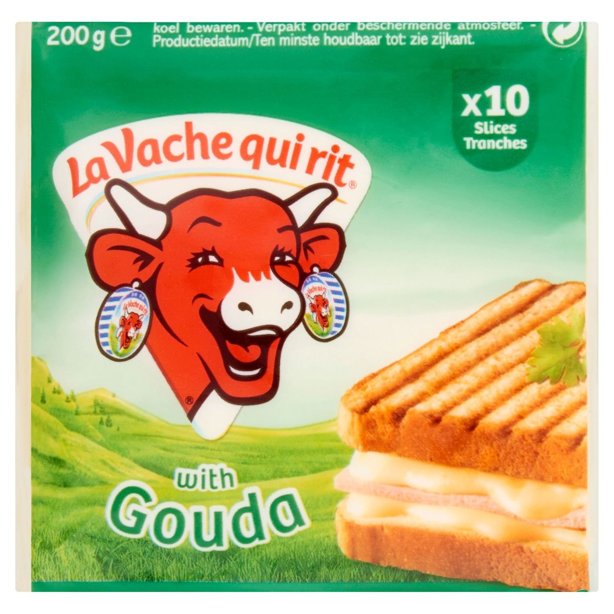 La Vache Qui Rit fromage en tranches Gouda 200 g