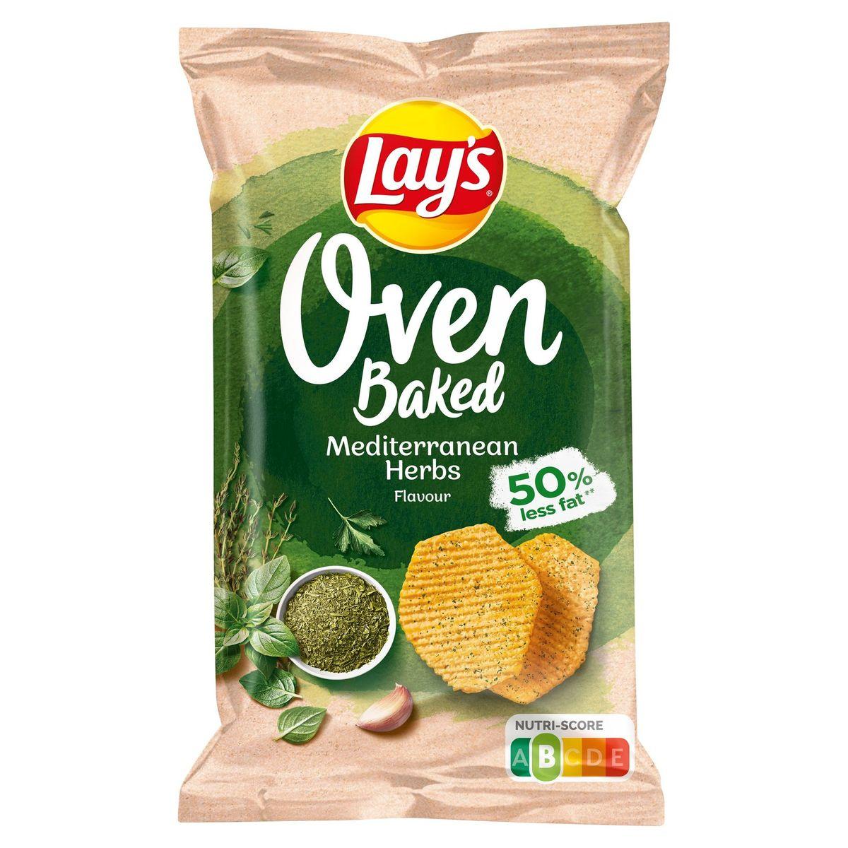Lay's Chips Oven Baked Herbes Méditerannéennes 150 gr