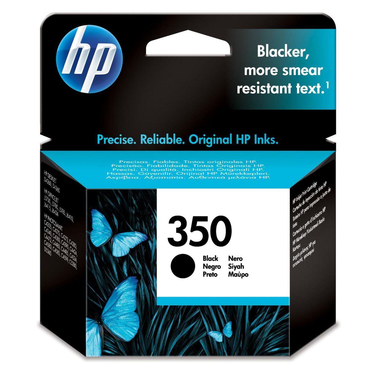 HP - Inktcartridge 350 - Zwart