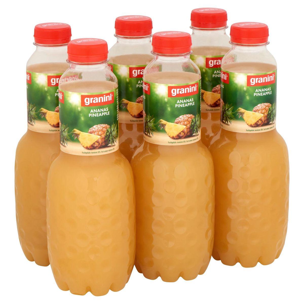 granini Ananas 6 x 1 L