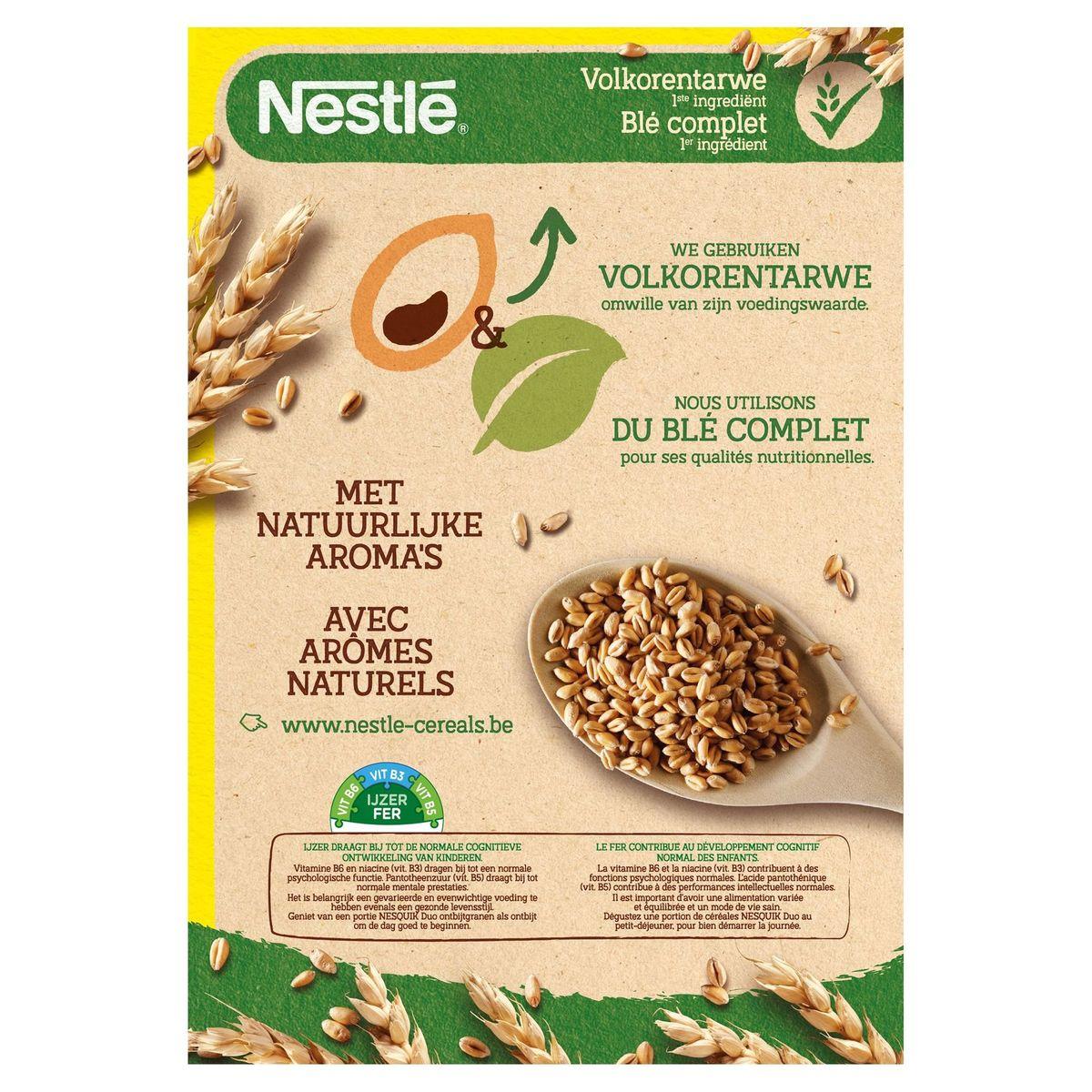 NESQUIK Duo Ontbijtgranen Chocoladesmaak & Witte Chocolade 325 g