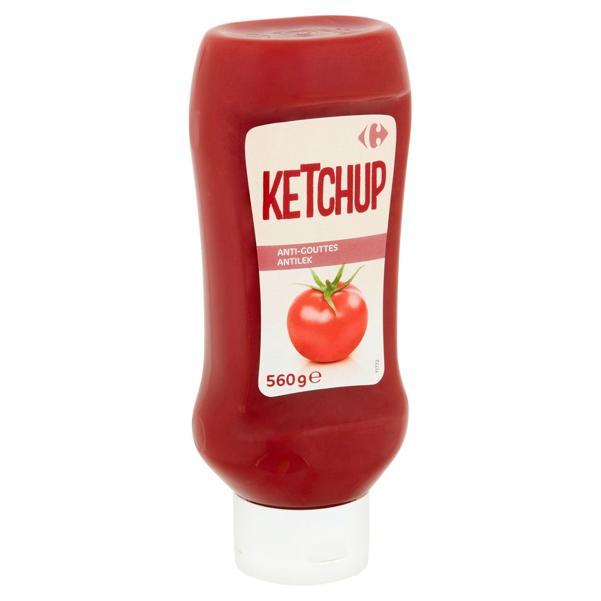 Carrefour Ketchup Anti-Gouttes 560 g