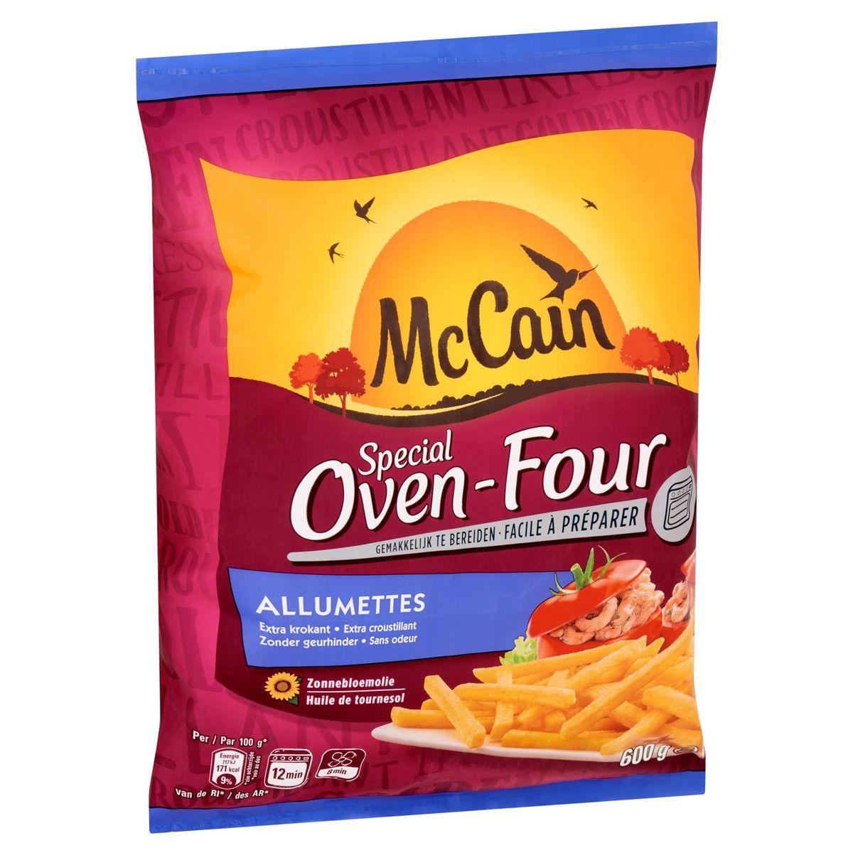 McCain Frites au Four Allumettes 600 g