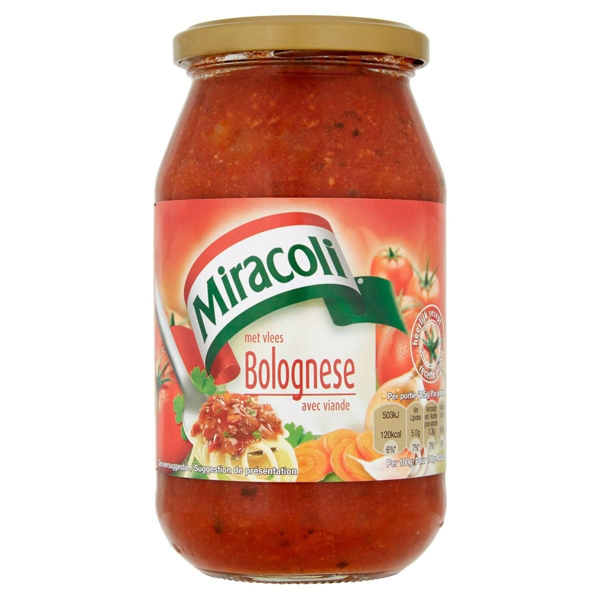 Miracoli Bolognese Saus met Vlees 528 g