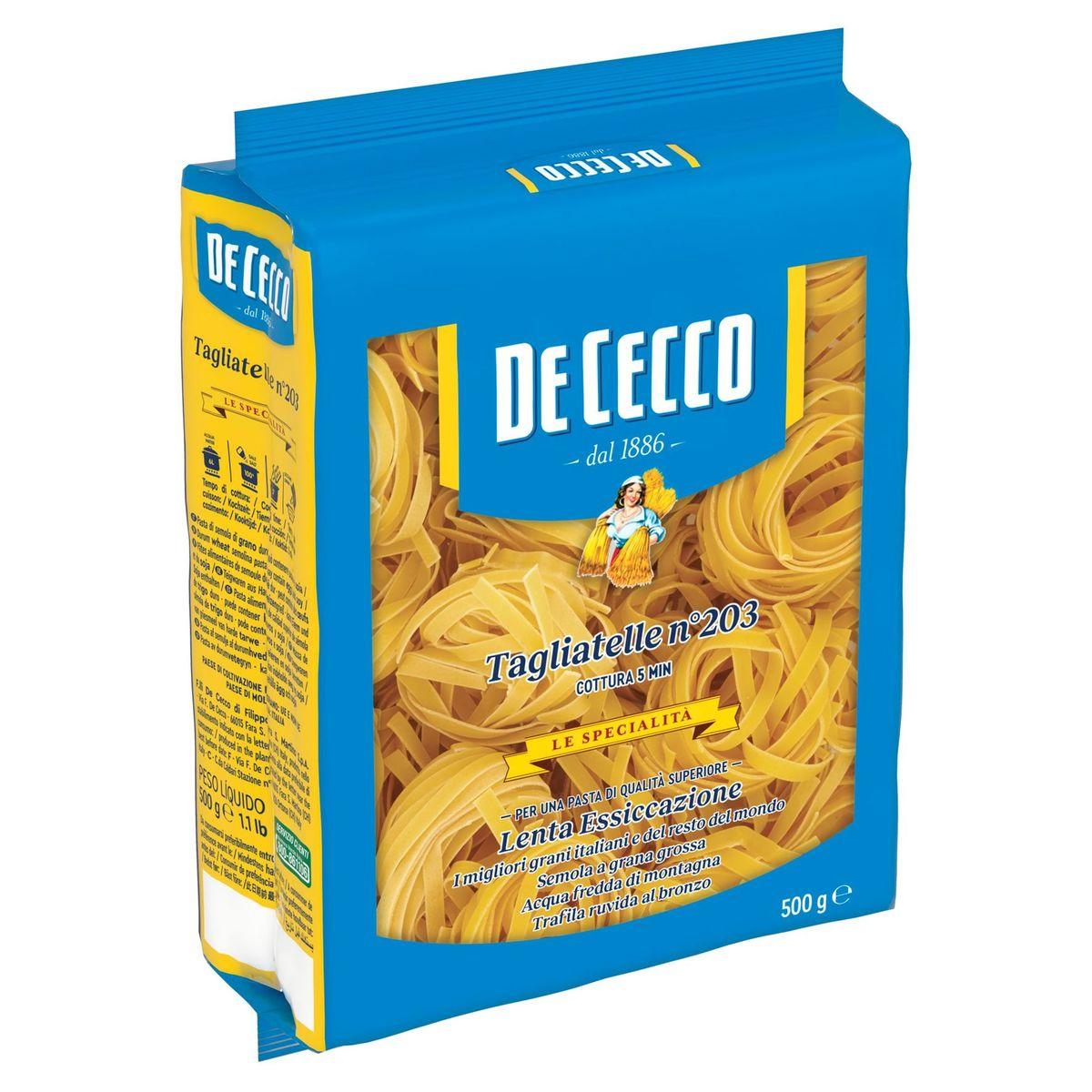De Cecco Tagliatelle n°203 500 g
