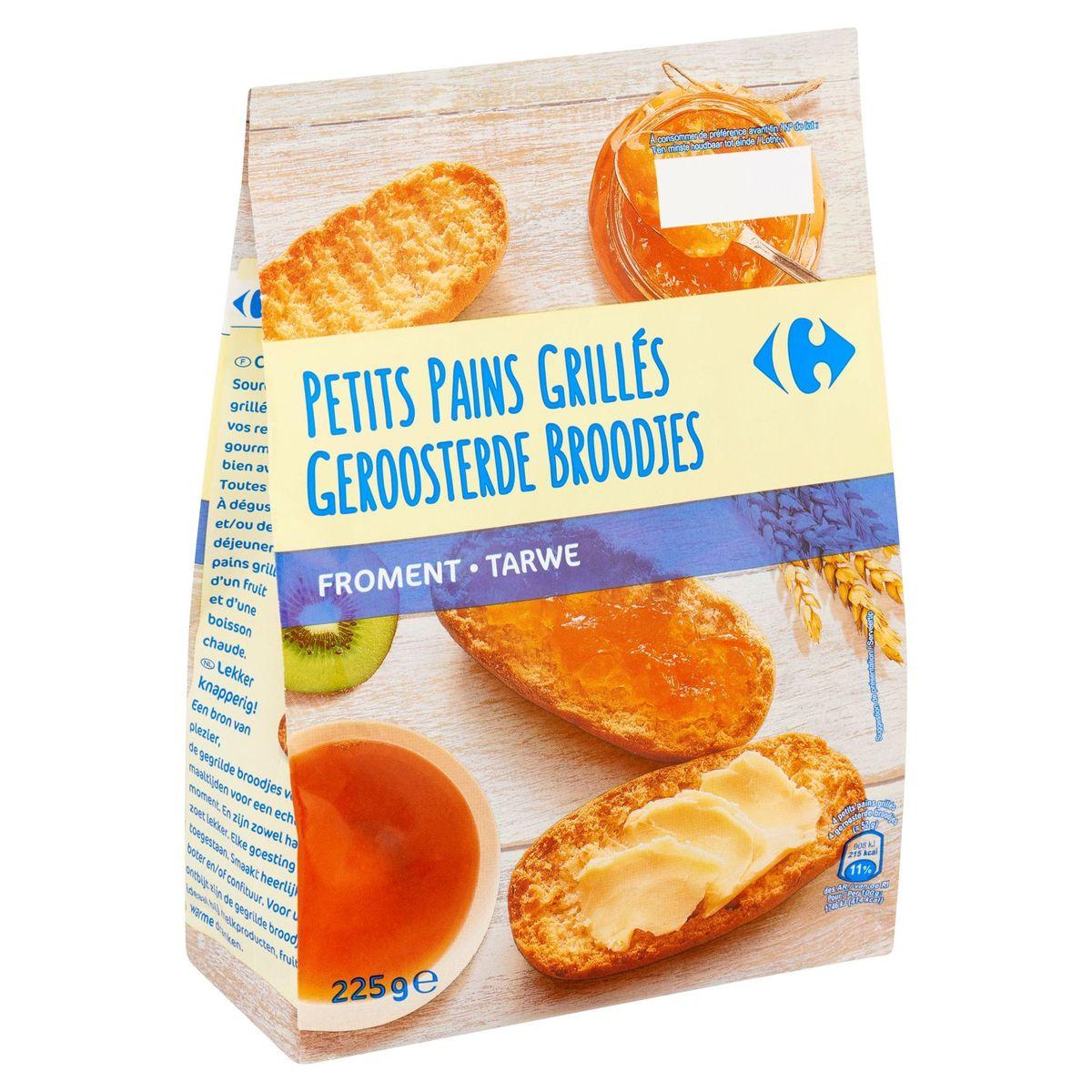 Carrefour Petits Pains Grillés Froment 225 g