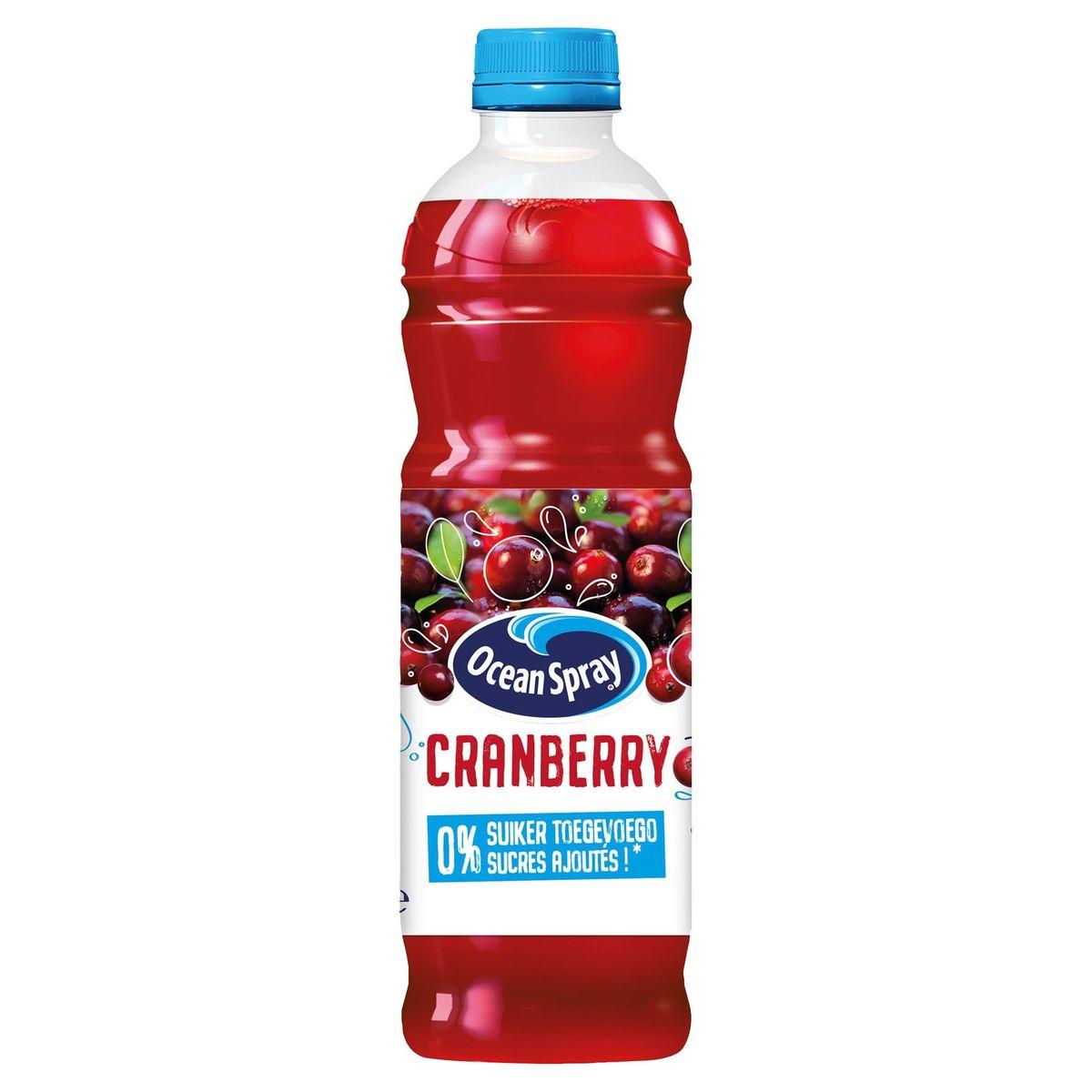Ocean Spray Cranberry 0% Sucres Ajoutés 1 L