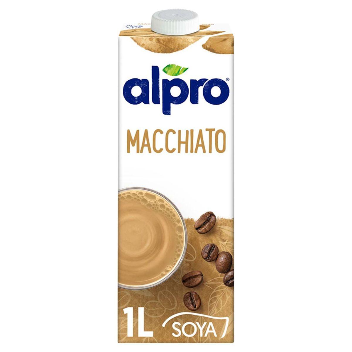 Alpro Macchiato Boisson à base de Soja 1 L