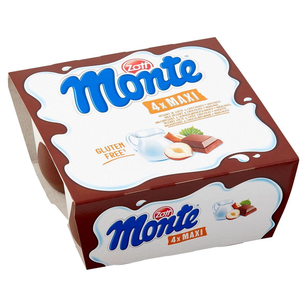 Monte Maxi 4 x 100 g