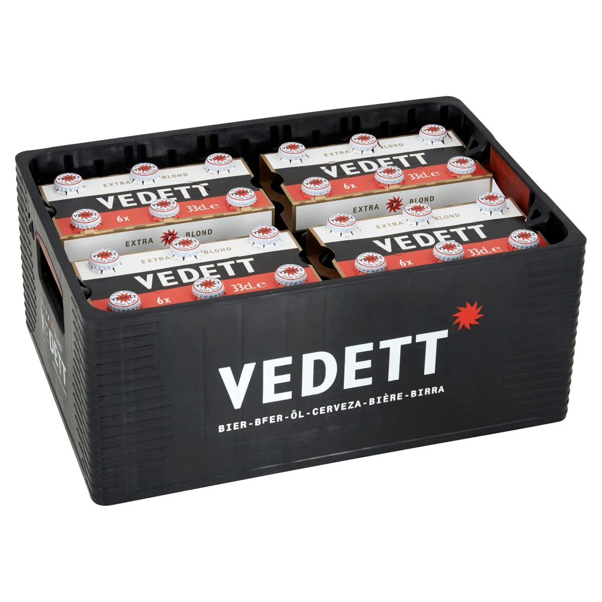 Vedett Extra Blond Bier Krat 24 x 33 cl