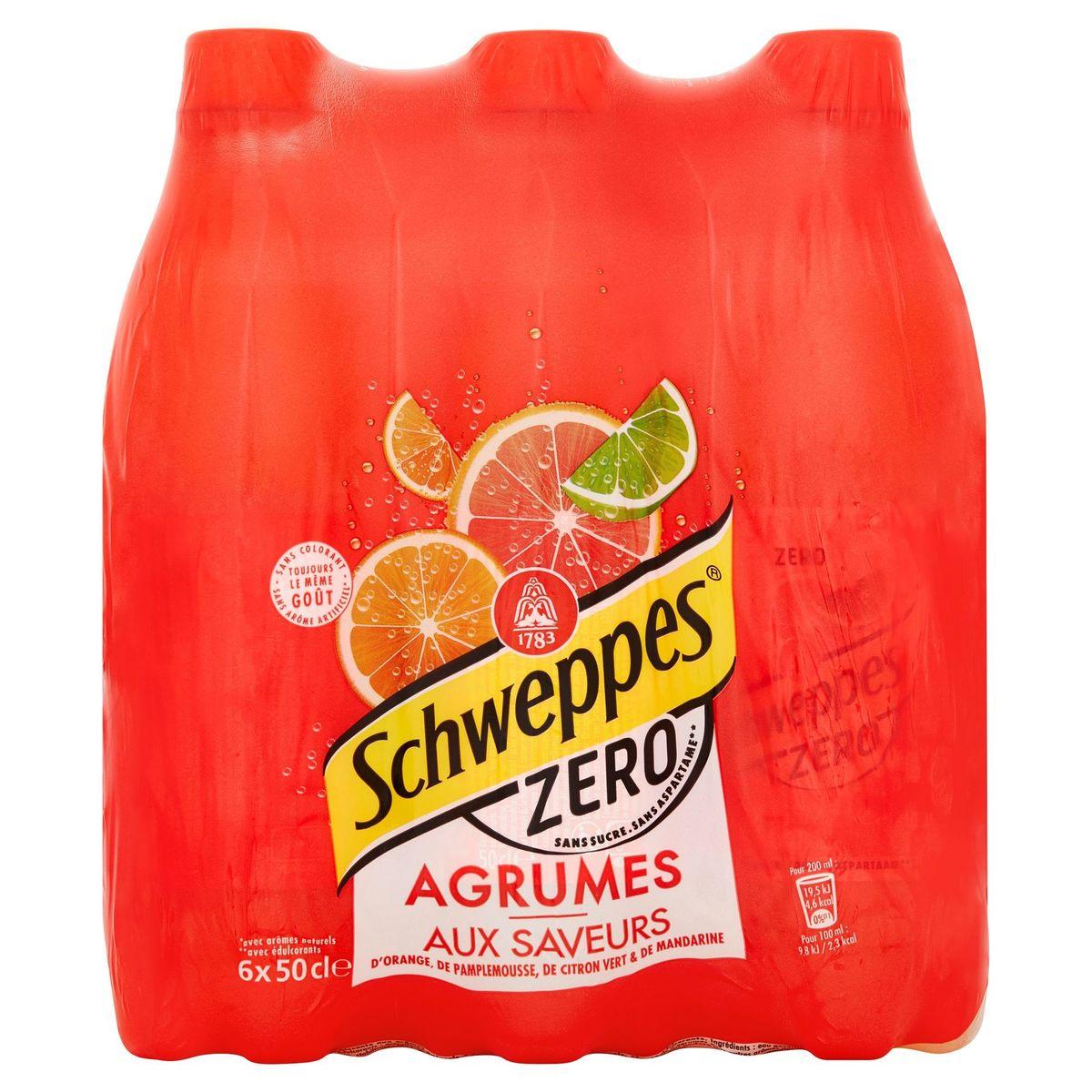Schweppes Agrumes Citrussmaken 6 x 50 cl