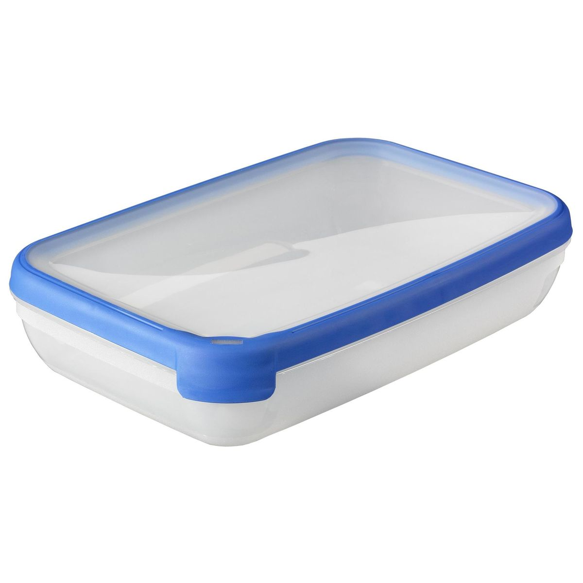 Curver Grand Chef Rechthoekige vershouddoos 2,6L - Transparant / Blauw