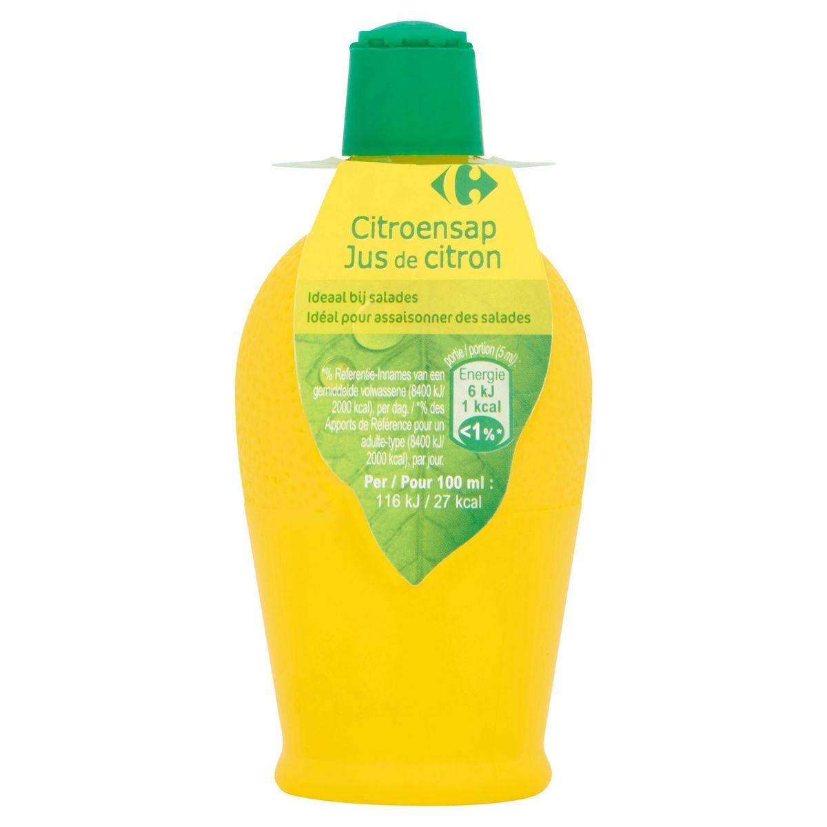 Carrefour Citroensap 125 ml