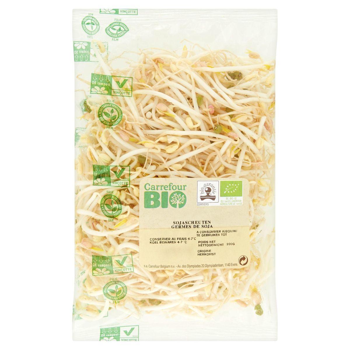 Carrefour Bio sojascheuten 200 g