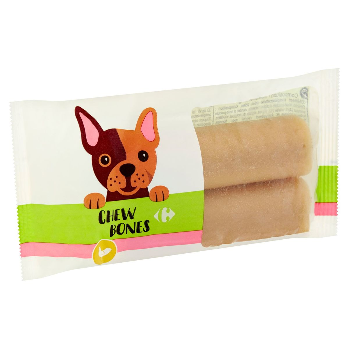 Carrefour Chew Bones 2 Stuks 200 g