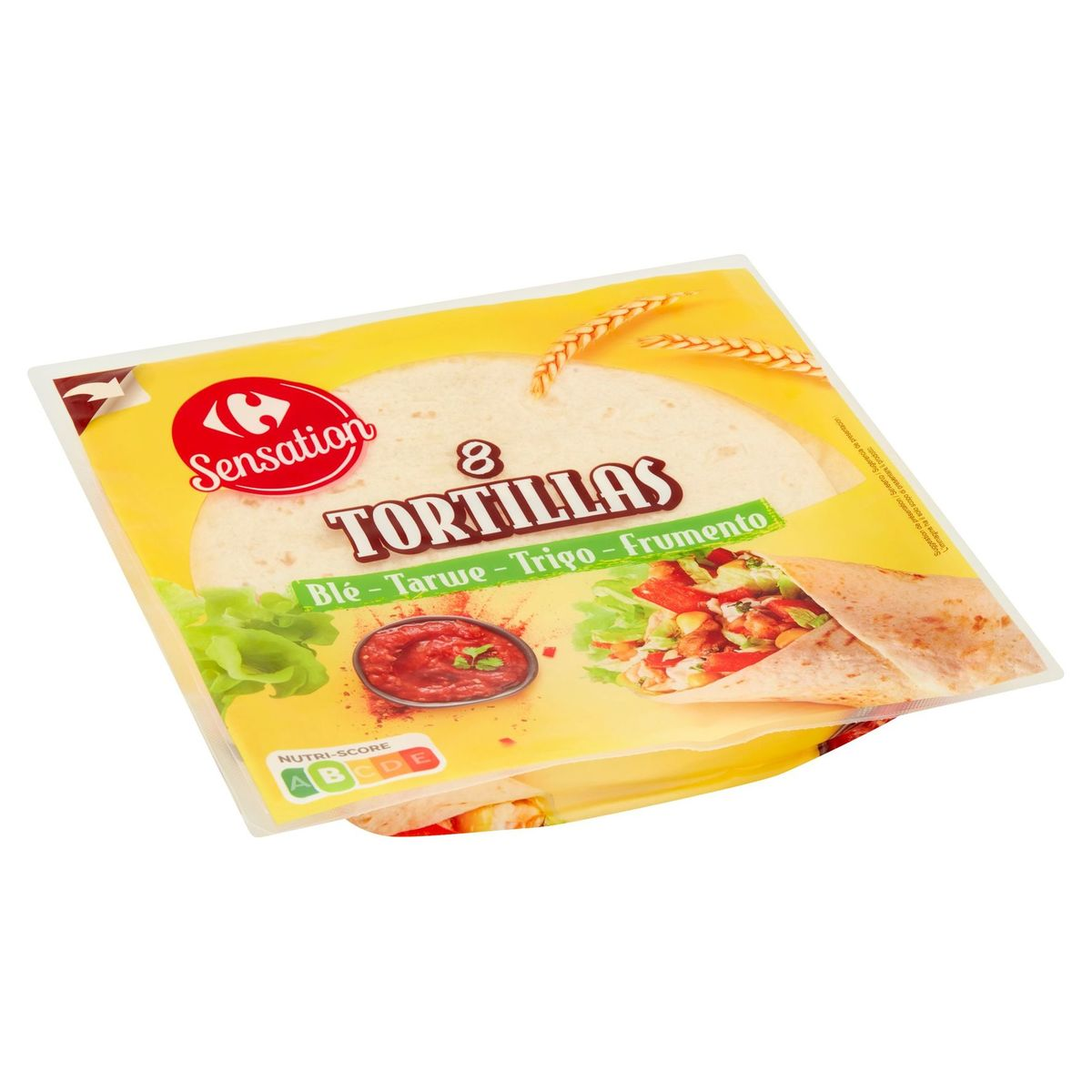 Carrefour Sensation Tortillas Tarwe 8 Stuks 320 g