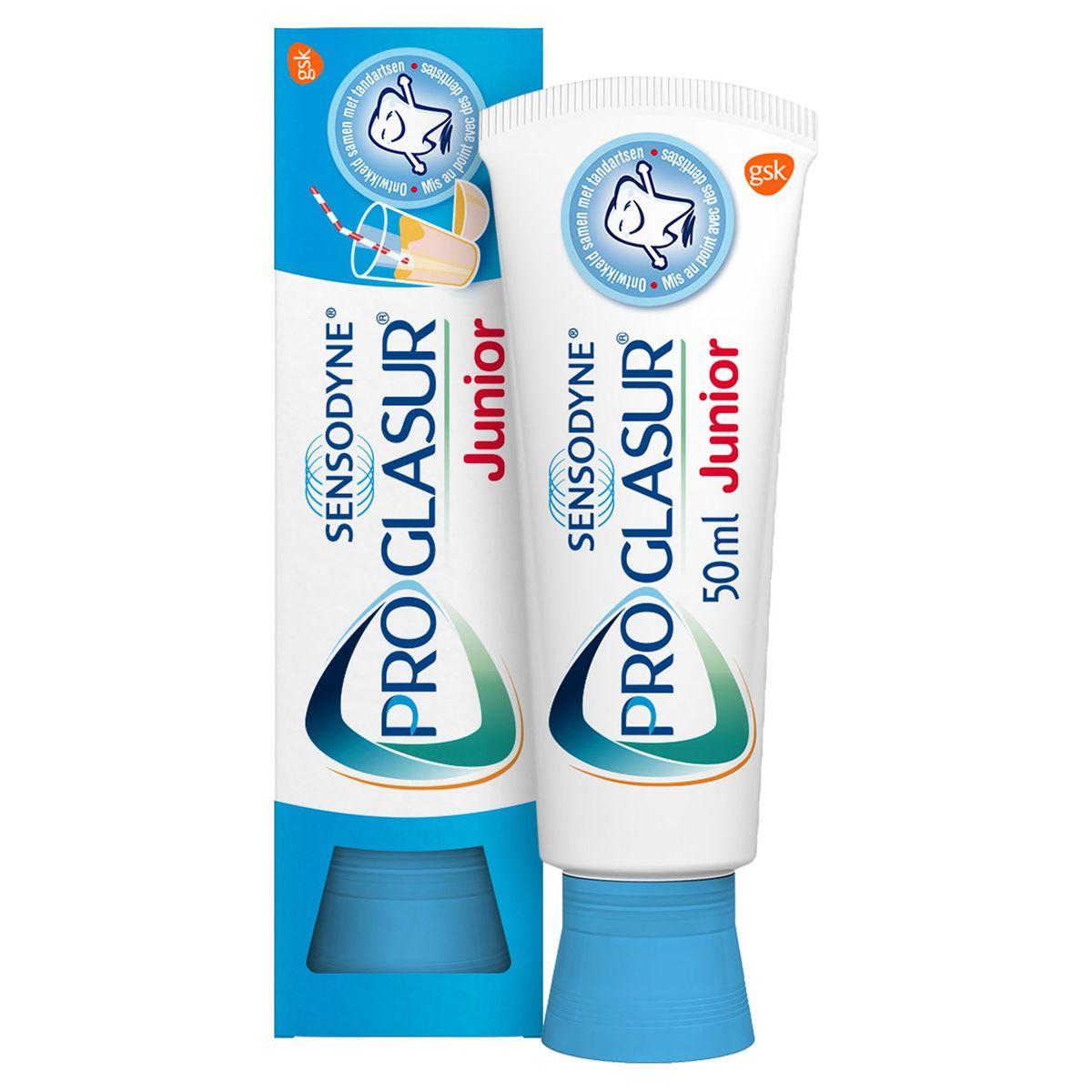 Sensodyne Proglasur Junior Dentifrice 6-12 Ans 50 ml