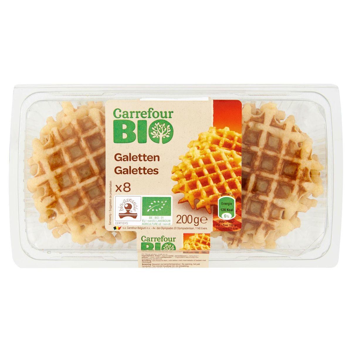 Carrefour Bio 8 Galettes 200 g