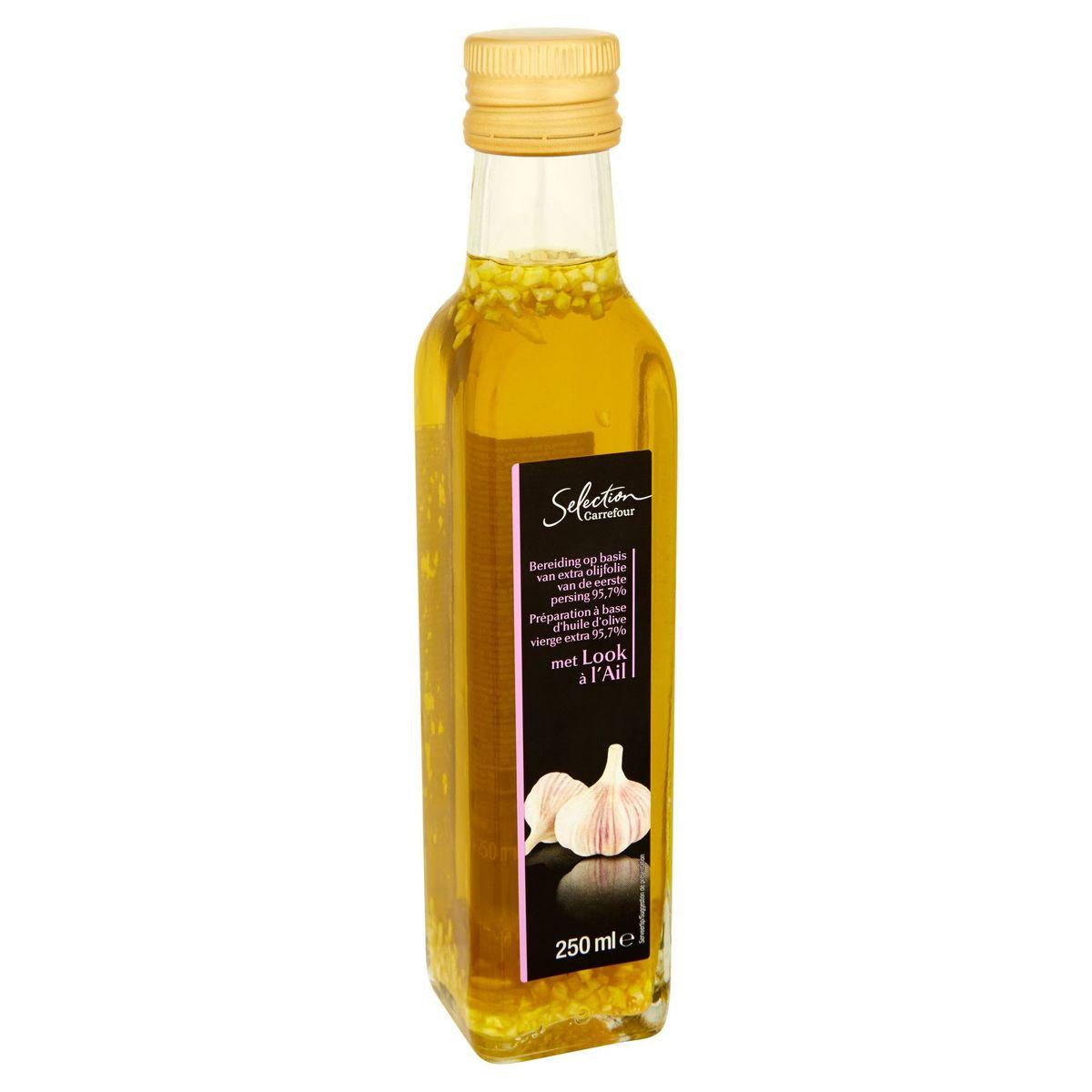 Carrefour Selection Huile d´Olive à l'Ail 250 ml