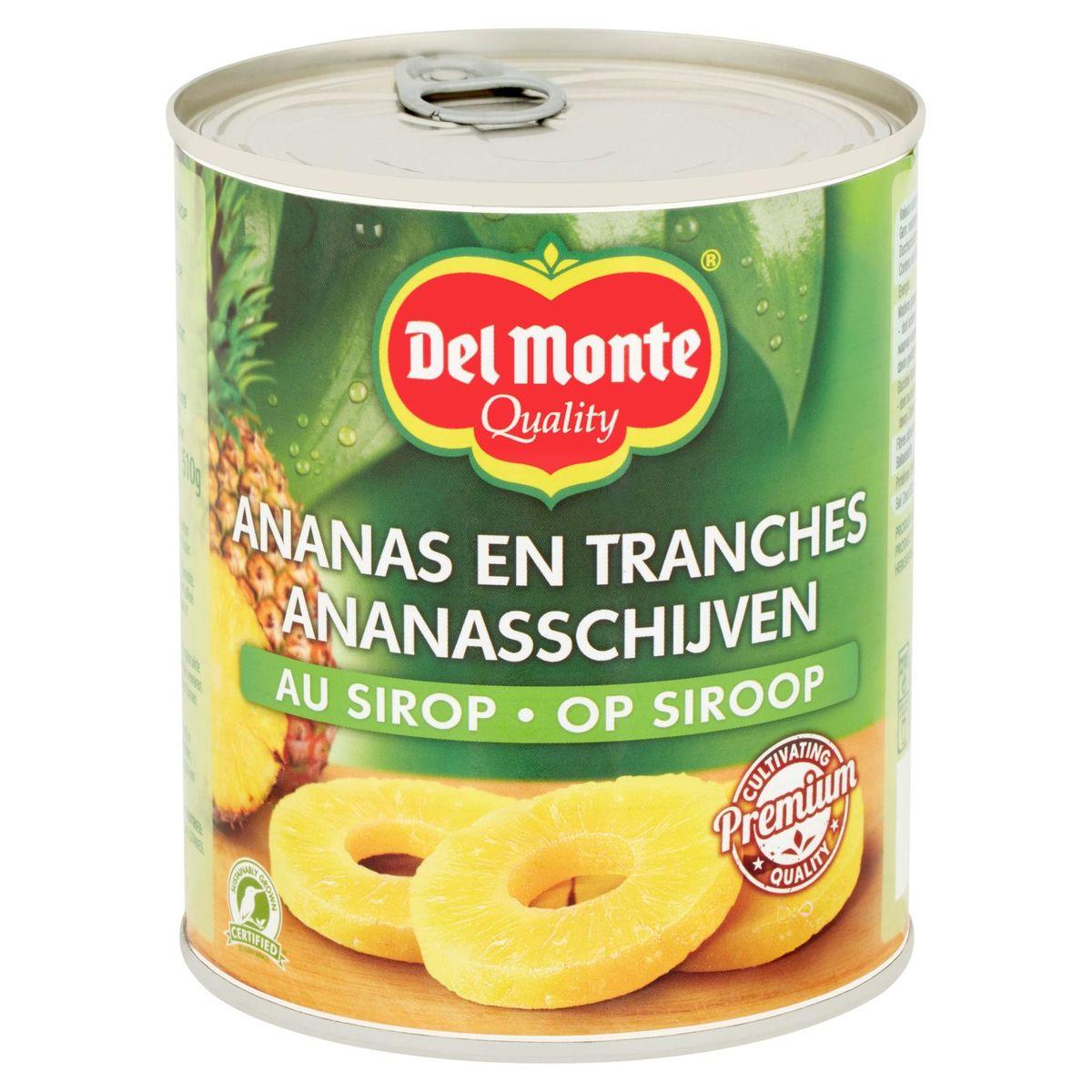 Del Monte Ananas en Tranches au Sirop 840 g