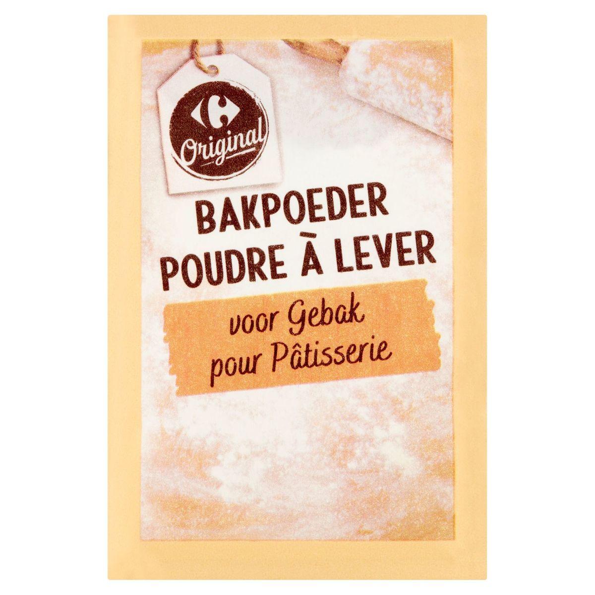 Carrefour Original Bakpoeder 6 x 15 g